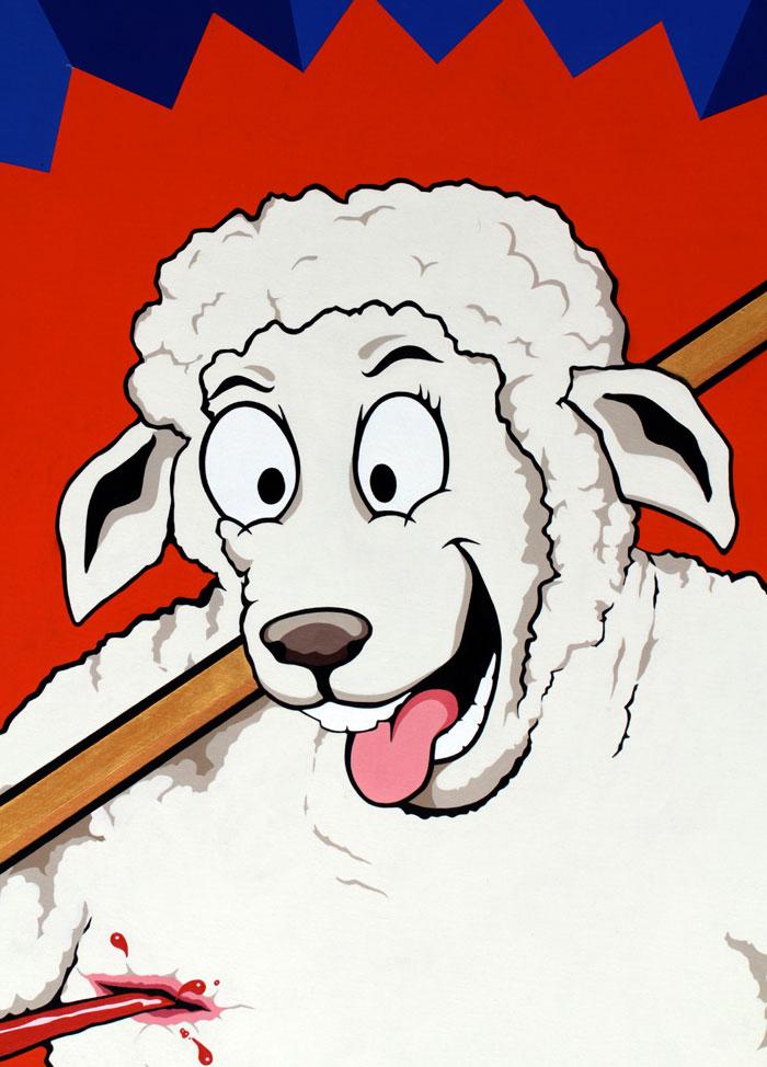Michael Croft   Artist   Love Meat   Hackney Farm   Sheep
