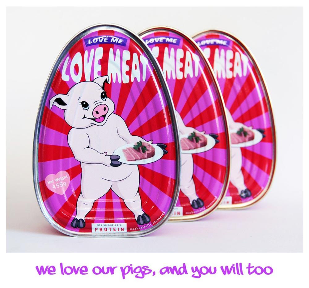 Love Meat - Hackney Farm - Michael Croft
