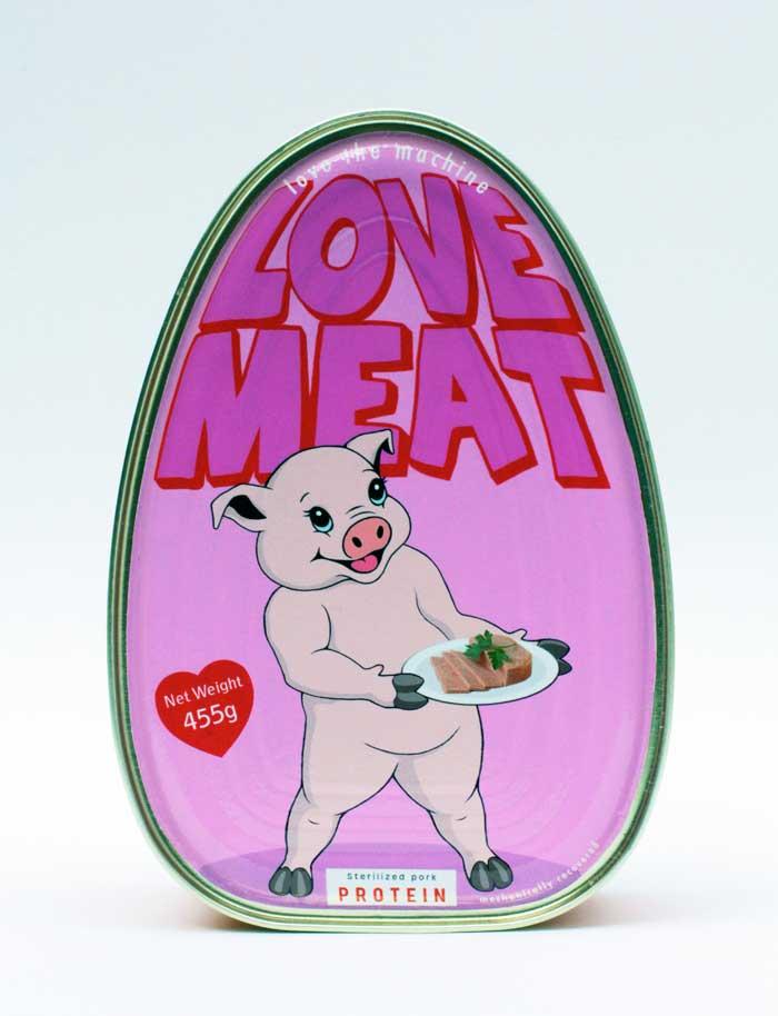 Love Meat - Hackney Farm - Michael Croft - Spam