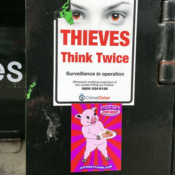 Hackney Farm Magnetic Advertising Campaign | Michael Croft | Artist