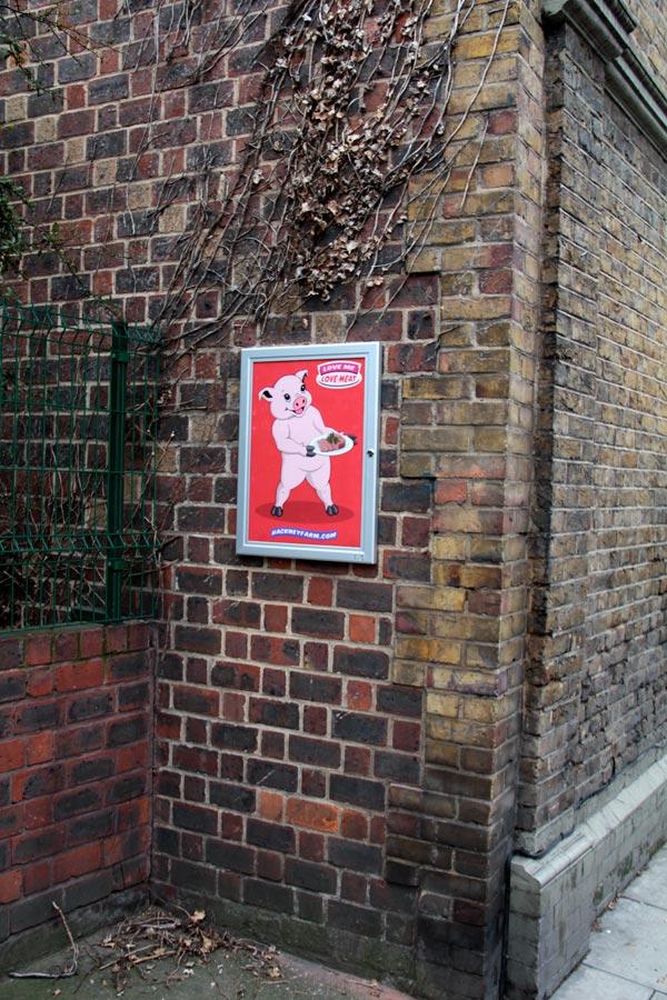 Hackney Farm Poster   Michael Croft   Artist