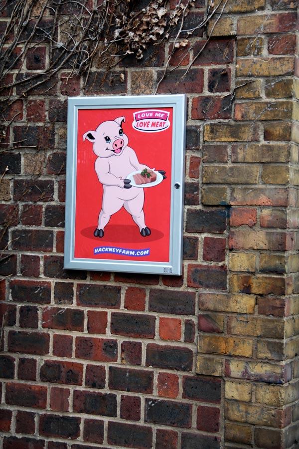 Hackney Farm Poster | Michael Croft | Artist