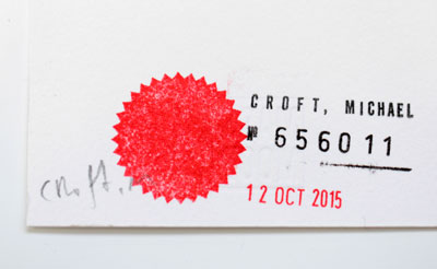 GDate Stamp - Michael Croft