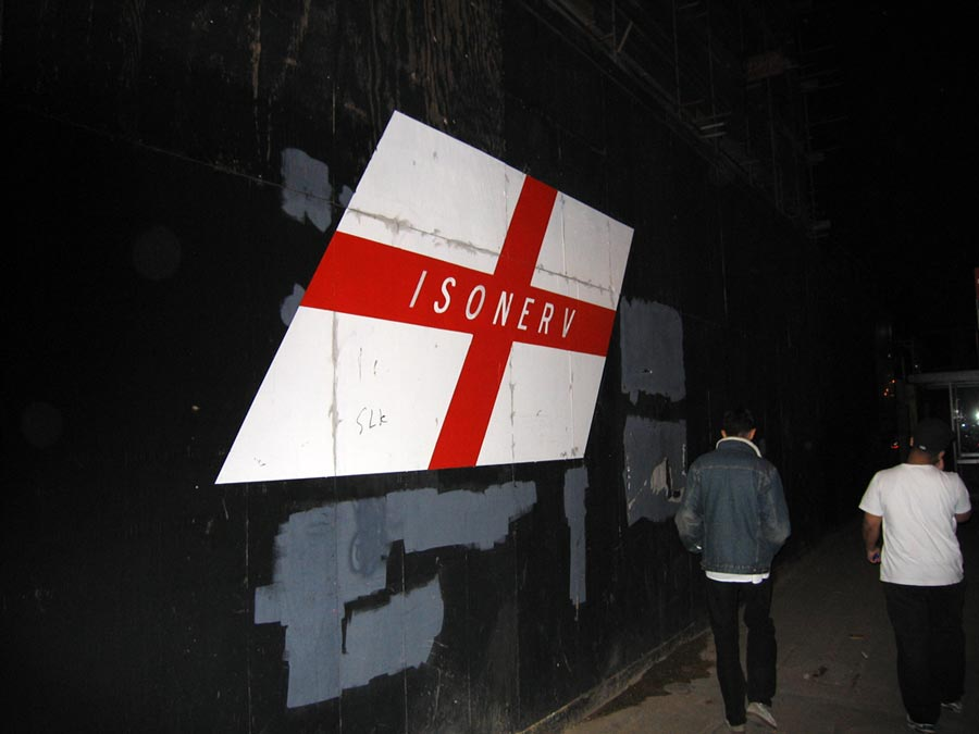 Michael Croft. ISONERV. Artist. Exhibition