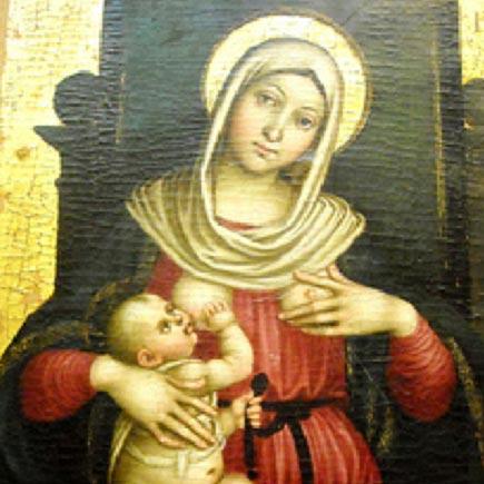 Madonna Lactans.