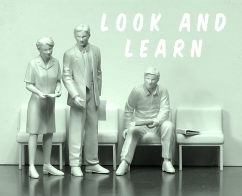 LOOK and LEARN. Michael Croft / art / artist.