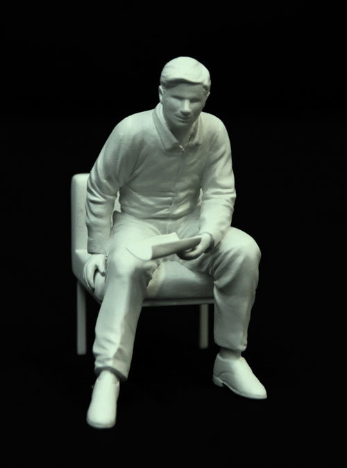 Look and learn | Resin scale model | Michael Croft | Artist