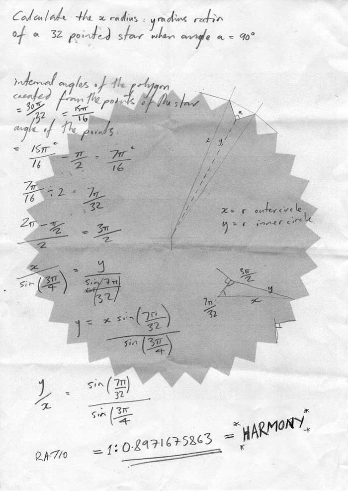Michael Croft. Harmony Calculation. SUPERSTAR.