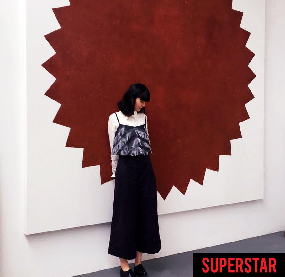 SUPERSTAR painting - Michael Croft / artist / art