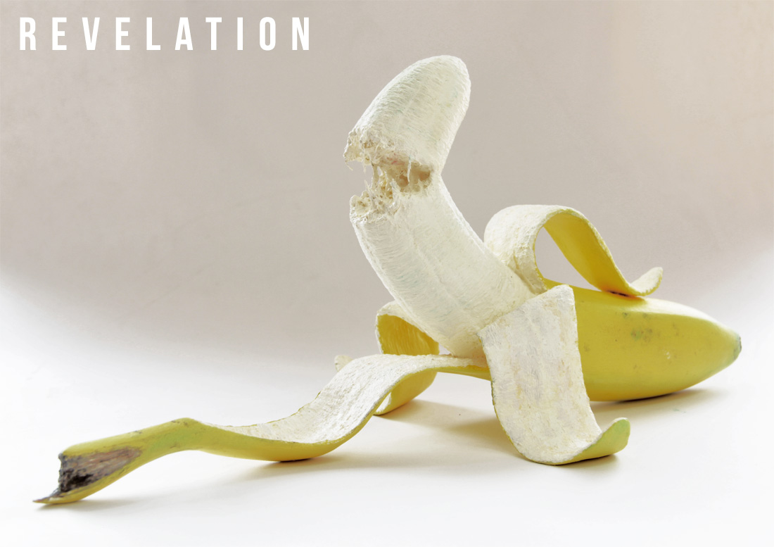 Michael Croft | Artist | Revelation | Banana Sculpture